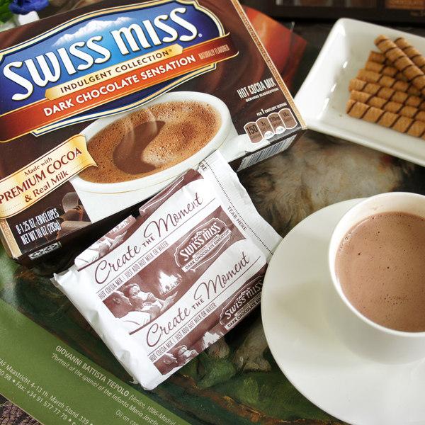 SwissMiss可可粉-黑巧克力8包入