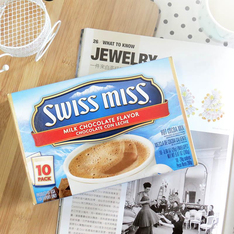SwissMiss牛奶巧克力可可粉10入
