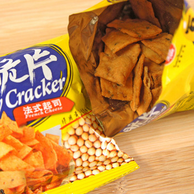 【九福】豆脆片-法式起司口味A65