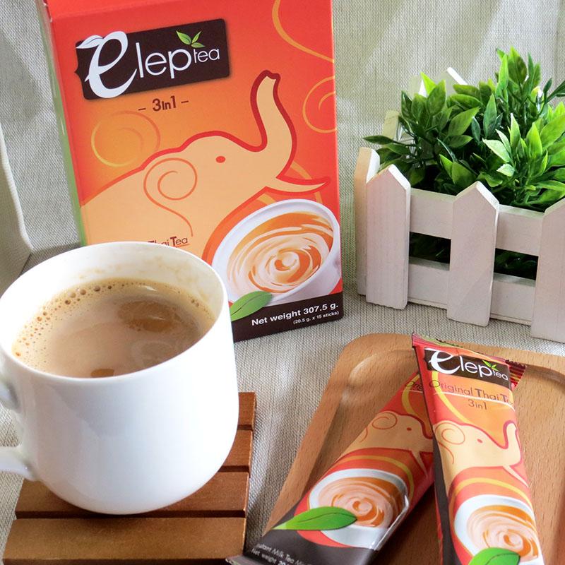 eleptea泰國大象奶茶!15包一盒