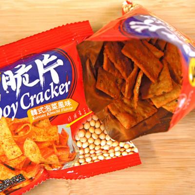 【九福】豆脆片-韓式泡菜口味A66