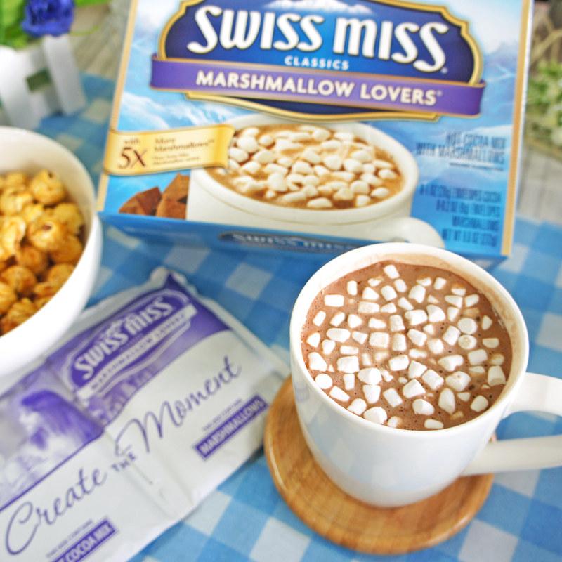 SwissMiss濃情棉花糖可可粉8包入