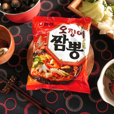 【農心】魷魚炒碼風味麵