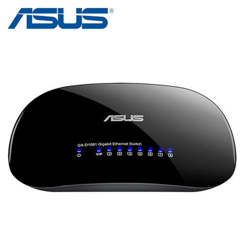 ASUS華碩 GX-D1081 8埠節能網路交換器