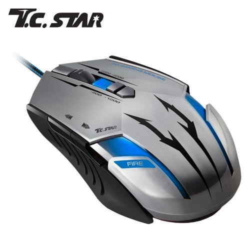 T.C.STAR TCN294BK 電競光學滑鼠