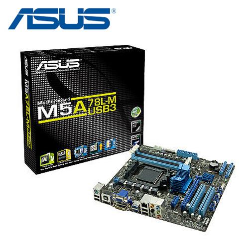 ASUS 華碩 M5A78L-M/USB3 (AMD AM3+ FX ) 主機板