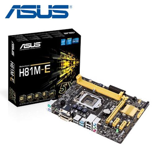 ASUS 華碩 H81M-E 主機板
