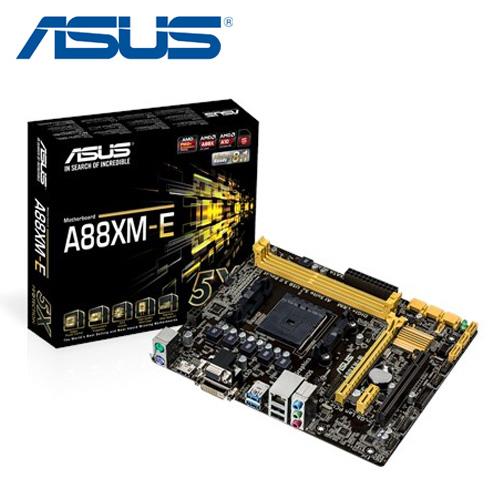 ASUS 華碩 A88XM-E FM2+ 主機板