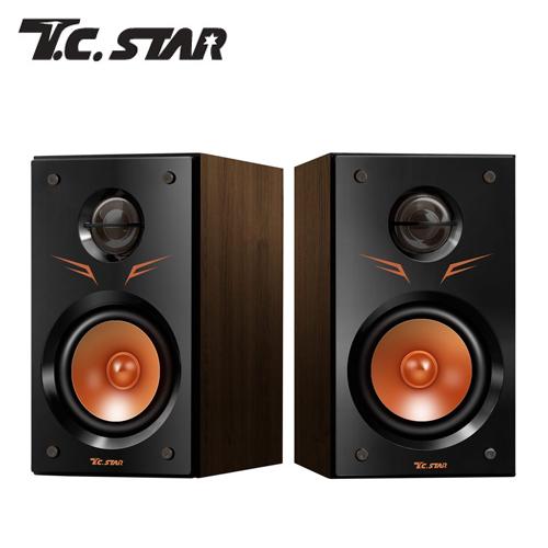 T.C.STAR TCS2425 木質USB電腦多媒體喇叭