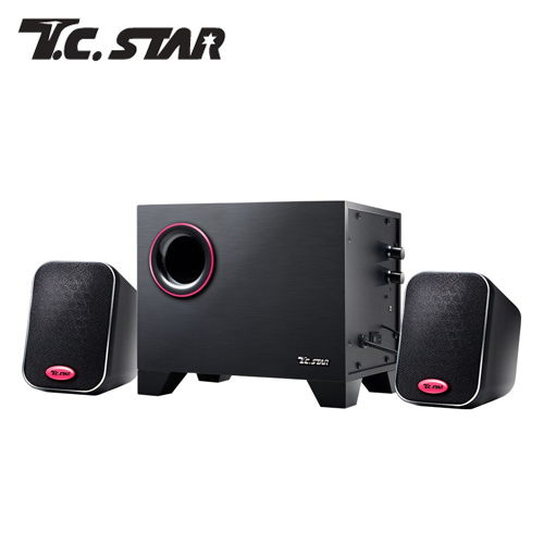T.C.STAR TCS3225 三件式多媒体喇叭