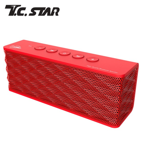 T.C.STAR TCS1000RD 无线蓝芽啦叭 红色