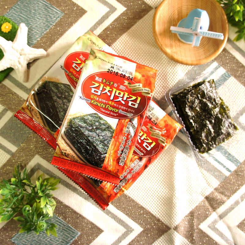 【激安殿堂】泡菜口味海苔