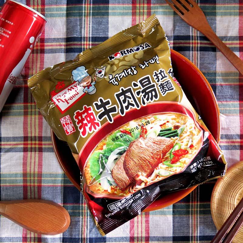 【KORMOSA 韓寶】辣牛肉湯拉麵