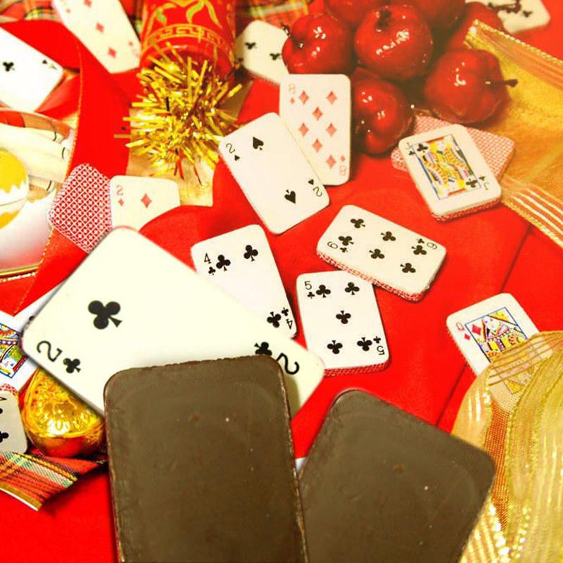 撲克牌巧克單入