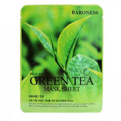 韓國BARONESS綠茶面膜