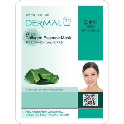 DERMAL蘆薈保濕修護細緻面膜