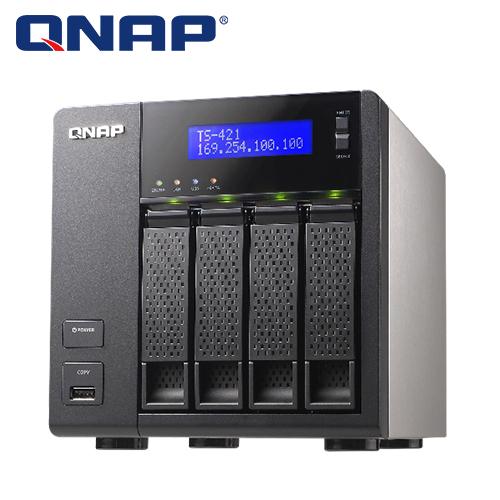 QNAP 威聯 TS-421 NAS儲存伺服器