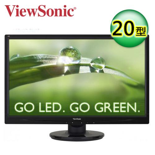 優派 VA2046A-LED 20型LED寬螢幕