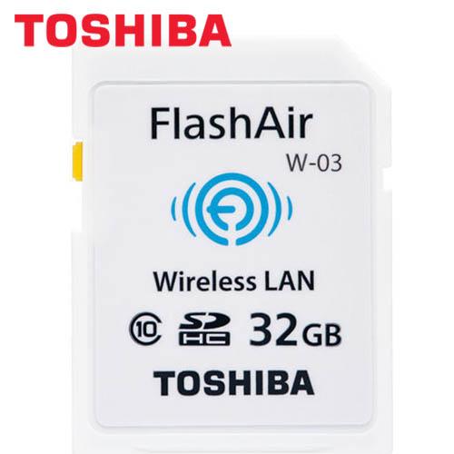 TOSHIBA 32G WIFI記憶卡 W03