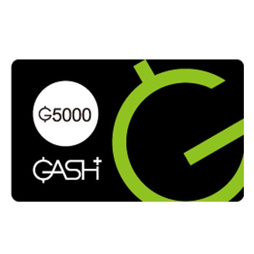【點數卡】GASH 5000點
