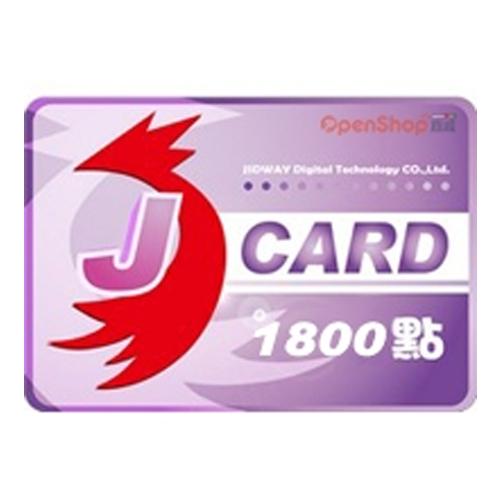 【点数卡】JCARD 1800点