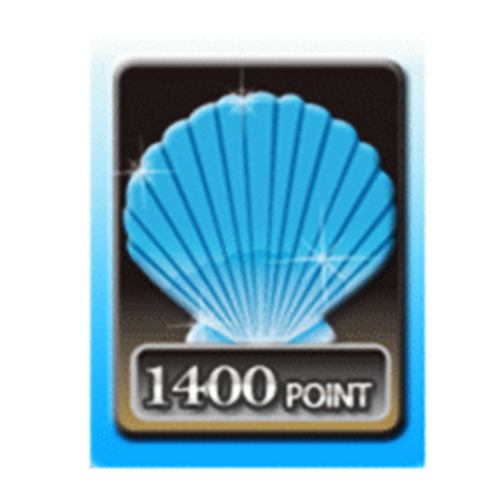 【點數卡】貝殼幣 1400點