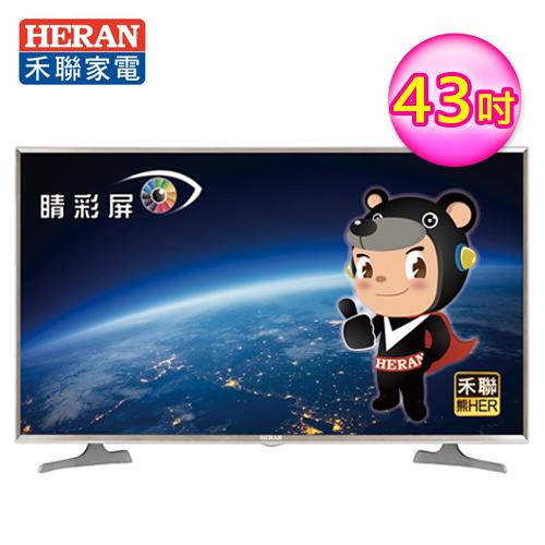 【HERAN 禾聯】43型 4KHER智慧 HD-43UDF2