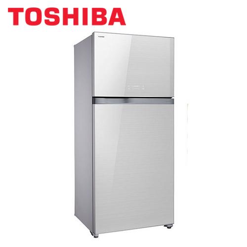 TOSHIBA 東芝 GR-WG66TDZ(ZW) 變頻玻璃鏡面雙門冰箱608L 白
