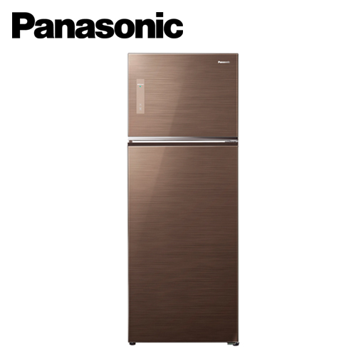 Panasonic 國際牌 485L雙門變頻冰箱 NR-B487TG-T_翡翠棕