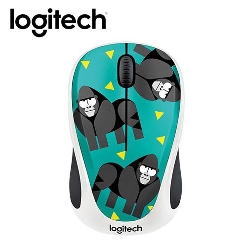 Logitech 羅技 M238 無線滑鼠~大猩猩