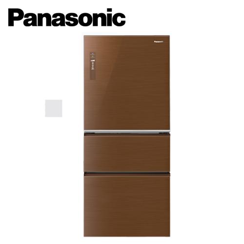 Panasonic 國際牌 NR-C618NHG-T 610L 三門變頻冰箱(翡翠棕)