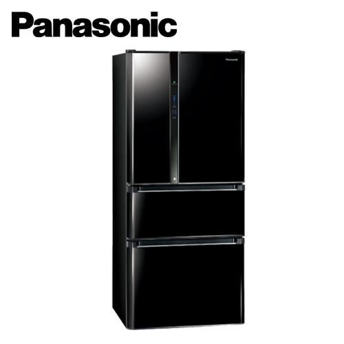 Panasonic 國際牌 NR-D618NHV-B 610L 四門nanoe變頻冰箱 光釉黑