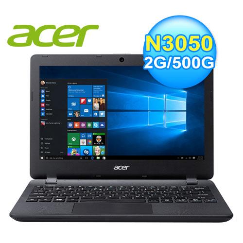 acer 宏 ES1-131-C47J 文書筆電 (黑)
