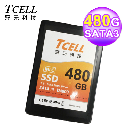 TCELL SSD 480GB固態硬碟MLC