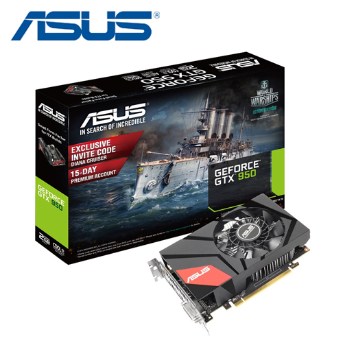 ASUS 華碩 GTX950-2G 顯示卡