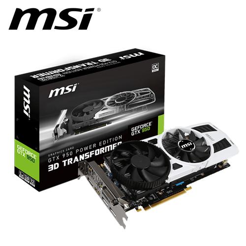 msi 微星 GTX 950 PE 2GD5 OC 顯示卡