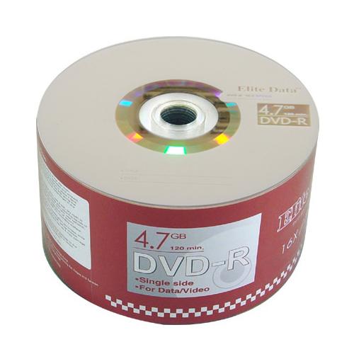 ELITE DATA DVD-R 4.7G 16X 50入
