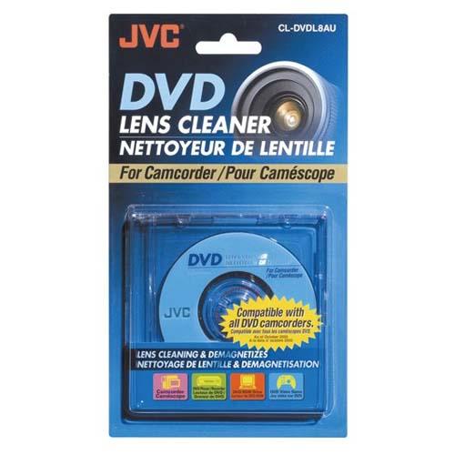 JVC 8cm DVD清潔片 CL- DVDL8AU【展示良品】