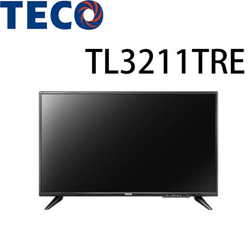 【TECO 東元】32型LED液晶顯示器TL3211TRE(不含裝)