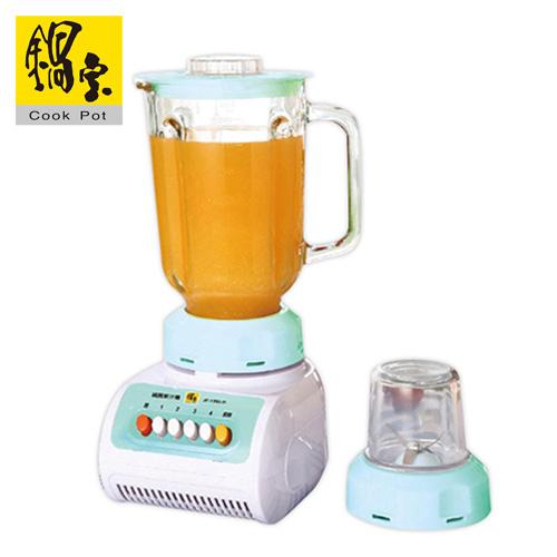 鍋寶 碎冰玻璃果汁機 JF-1582-D