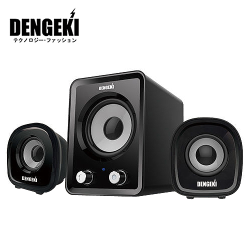 DENGEKI 電擊 2.1聲道USB喇叭 SK-827