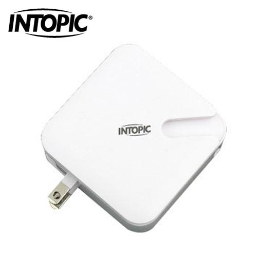 INTOPIC 廣鼎 超便利.旅充式行動電源 PW-C520-W