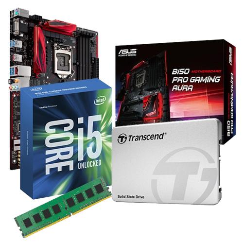 六代i5~6400核心升級組