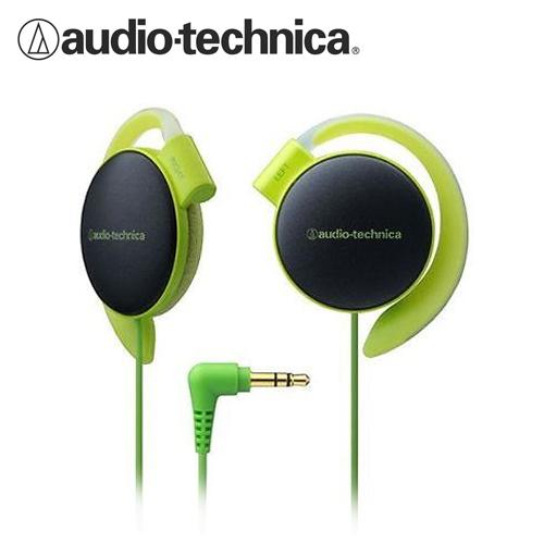 鐵三角 ATH-EQ500 輕量薄型軟質耳掛式耳機 綠