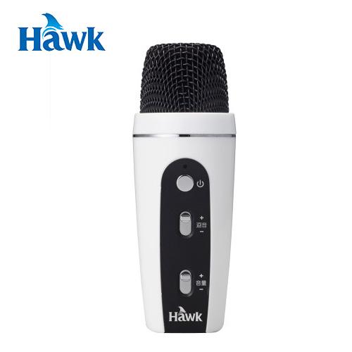 HAWK K2 無線K歌麥克風(白)