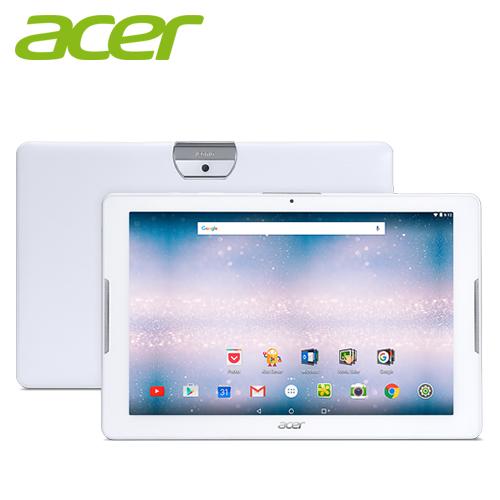 ACER B3-A30 四核十吋IPS平板白