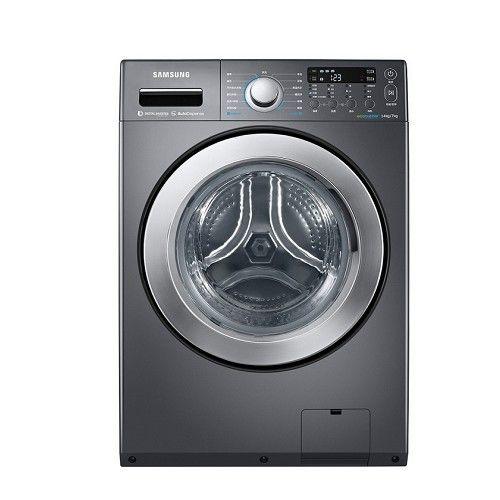 雙重送 【SAMSUNG三星】14KG洗脫烘滾筒式洗衣機WD14F5K5ASG
