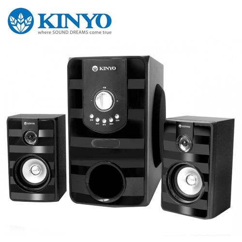 KINYO 耐嘉 2.1聲道喇叭 KY-7380