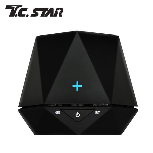 T.C.STAR TCS1020 黑六角蓝牙喇叭
