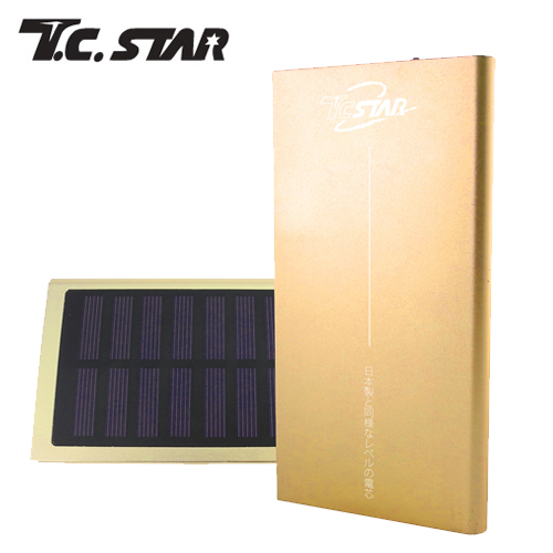 T.C.STAR 7500太陽能超大電流 行動電源 金